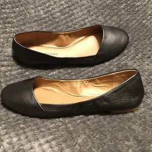 Lucky Brand Shoes - Lucky Brand Emeralda Black Leather Flats - 7